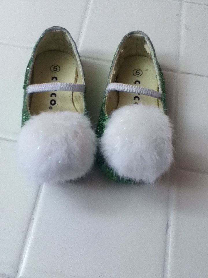 Tinkerbell shoes DIY