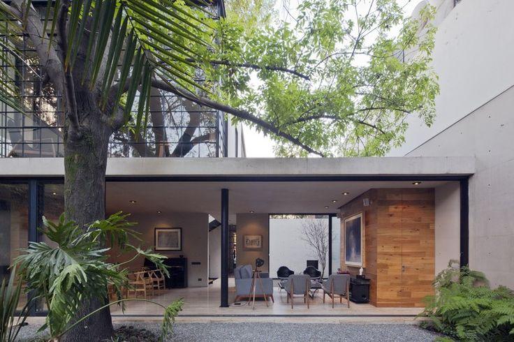 Casa Estúdio Hill / CCA Centro de Colaboración Arquitectónica | ArchDaily Brasil