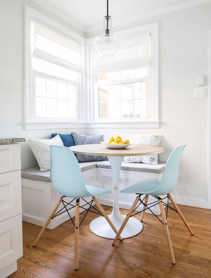 Breakfast Nook With Chairs And Corner Bench Thebestwoodfurniture