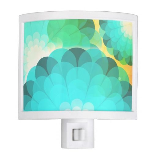 Kaleidoscope Flowers Night Light / by TsipiLevin - TheDancingSquid Store on Zazzle