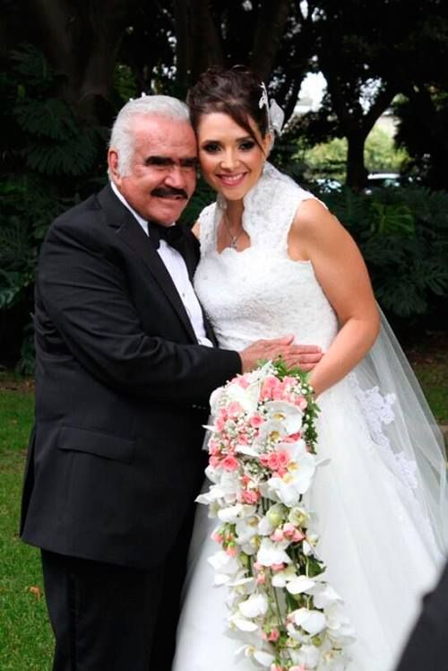 bouquet of daughter vicente fernandez