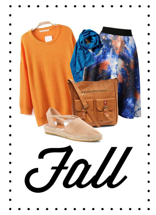fall by dzihan on Polyvore featuring Kanna Shoes and T-shirt & Jeans