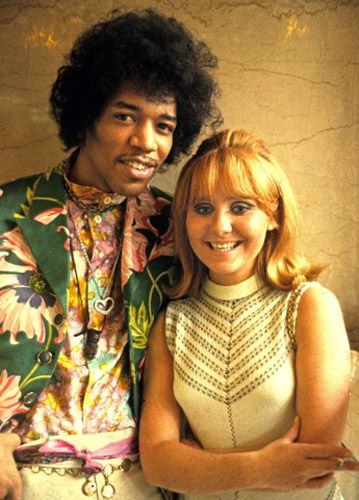jimi hendrix and lulu - love that clip on her show when he's supposed to play 'Hey Joe' and decides he's bored of that 'rubbish' and plays something else