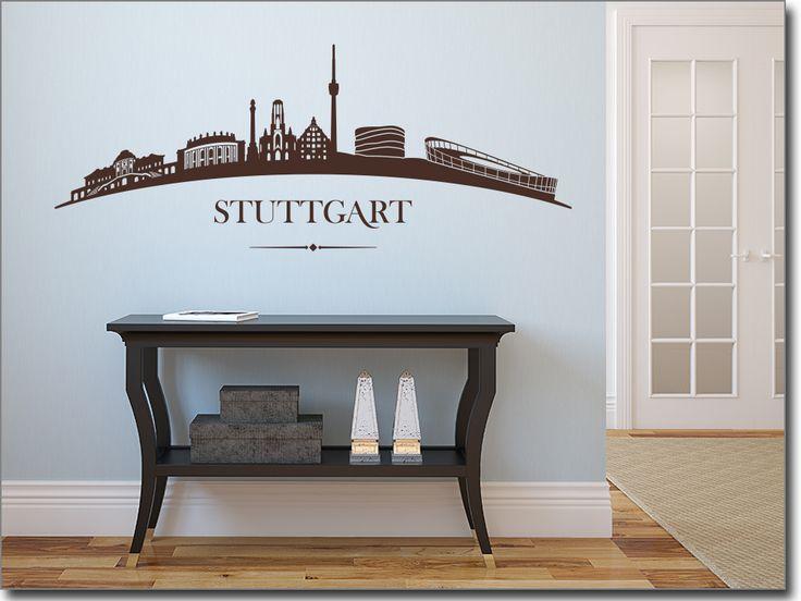36 best Wandtattoos Skylines  Landschaften images on Pinterest - Wandtattoos Fürs Badezimmer