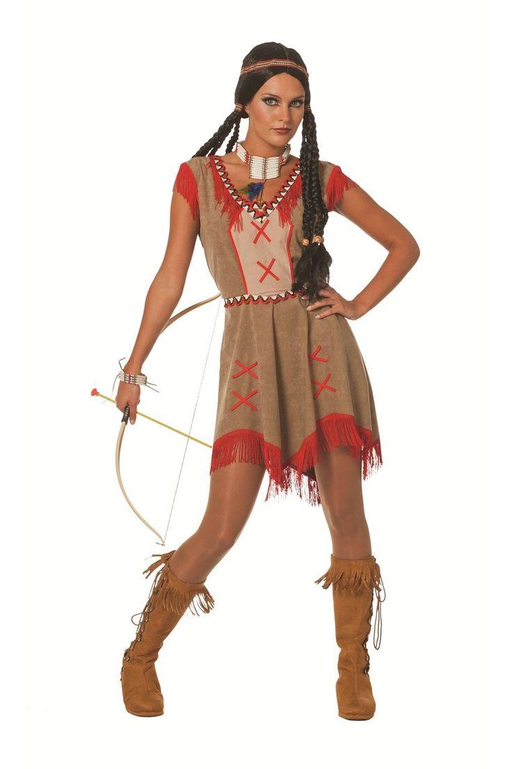 Bekijk deze indianenjurk op de website!