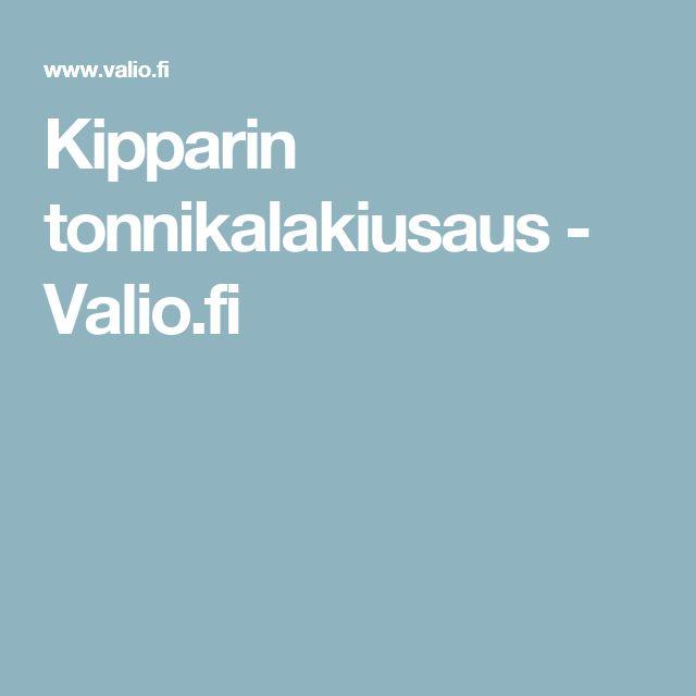 Kipparin tonnikalakiusaus - Valio.fi