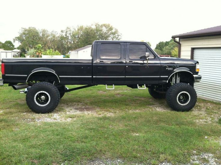 1996 F350 Crewcab | Lifted Trucks and Jeeps | Pinterest ...