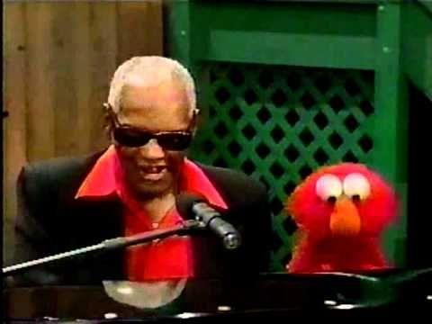 """Believe in Yourself"" sung by Ray Charles and Elmo! Skip a minute in to hear the song. Makes me happy! (:"