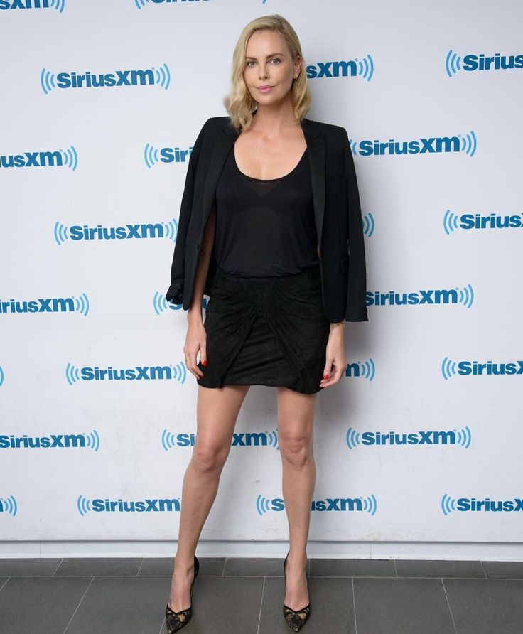 "1,806 Likes, 9 Comments - Charlize Theron (@charlizetheron__) on Instagram: ""Charlize in the Studio recording a radio show on #HowardStern on July 19 in New York.…"""
