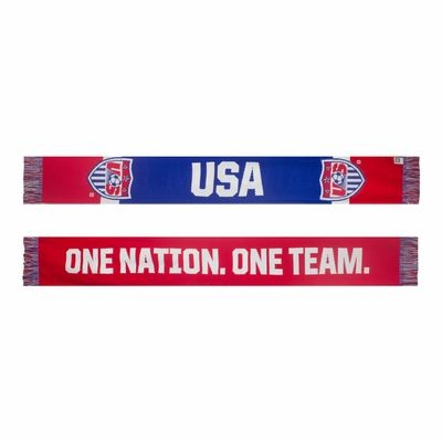 U.S. Soccer One Nation One Team Scarf - Click to enlarge