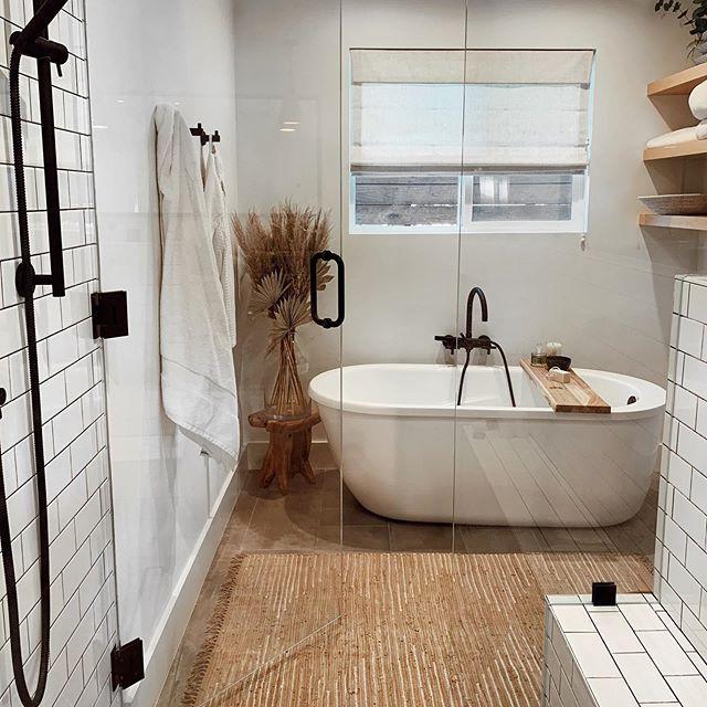 Modern Boho Bathroom Homedecor Bathroomideas Modern Boho