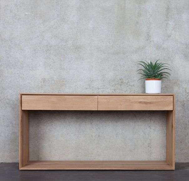 contemporary sideboard table in solid wood 51444 Studio emorational, Ethnicraft Style for Projects