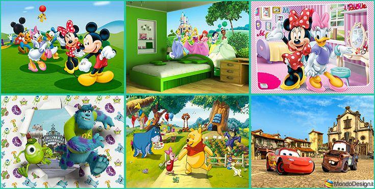 35 Tipi di Carta da Parati Disney per Bambini | MondoDesign.it