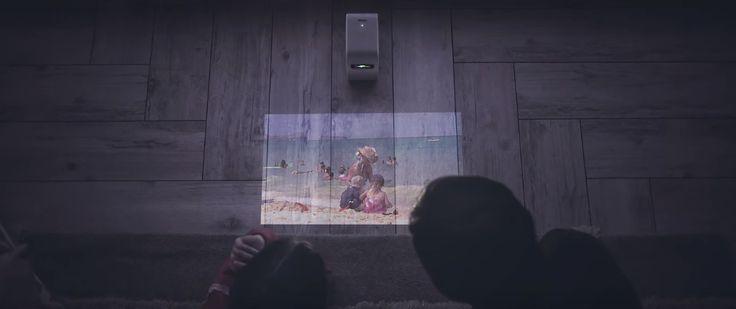 Sony desenvolve projetor portátil que cria um televisor em qualquer superfície