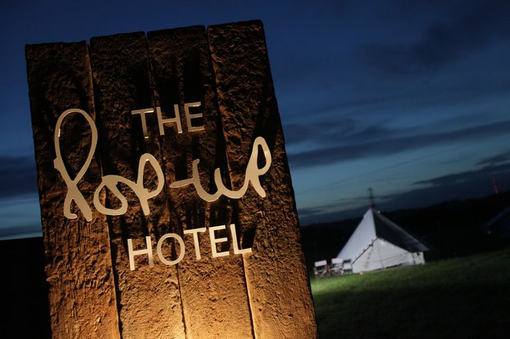 The Pop-Up Hotel - pared back and natural