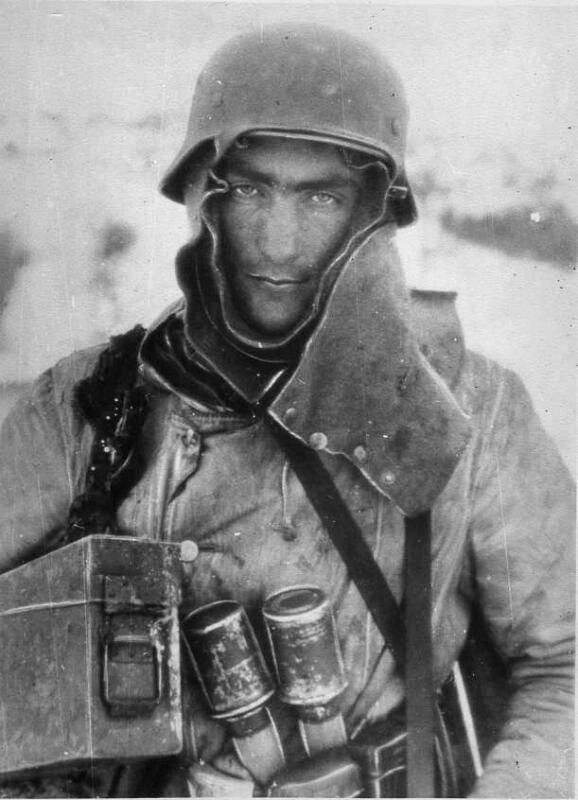 German Soldier on the Eastern Front