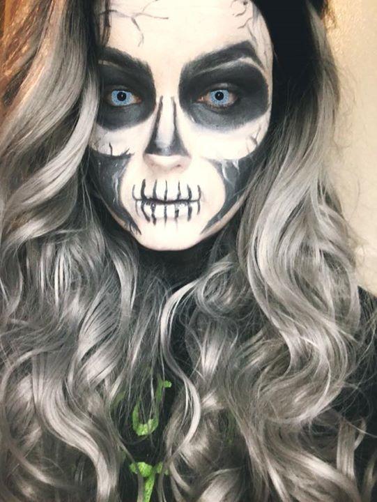 Silver Banshee Cosplay Makeup I did Instagram: @itsskylerrenea #makeup #cosplay #silverbanshee #dccomics