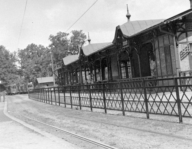Hűvösvölgyi villamos végállomás - 1935 - Fortepan