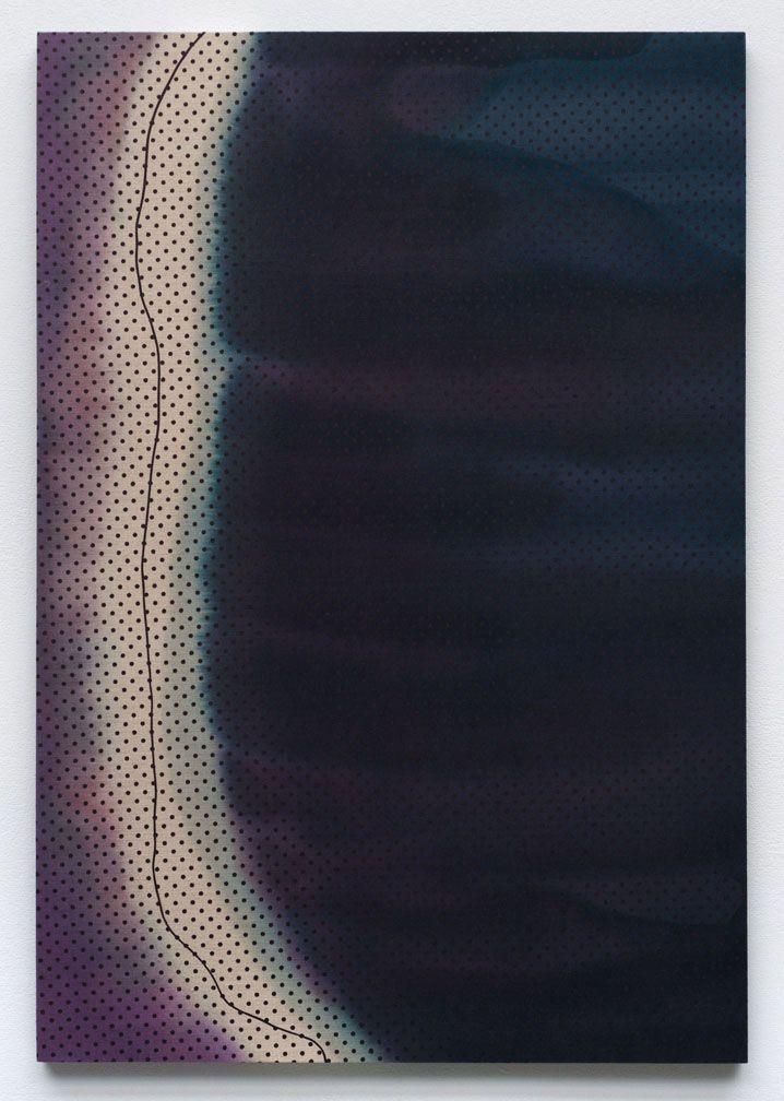 TONY DE LOS REYES | Border Theory (illuminated river/flujo libre), 2012