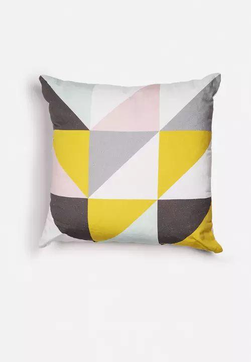 Triangles Cushion