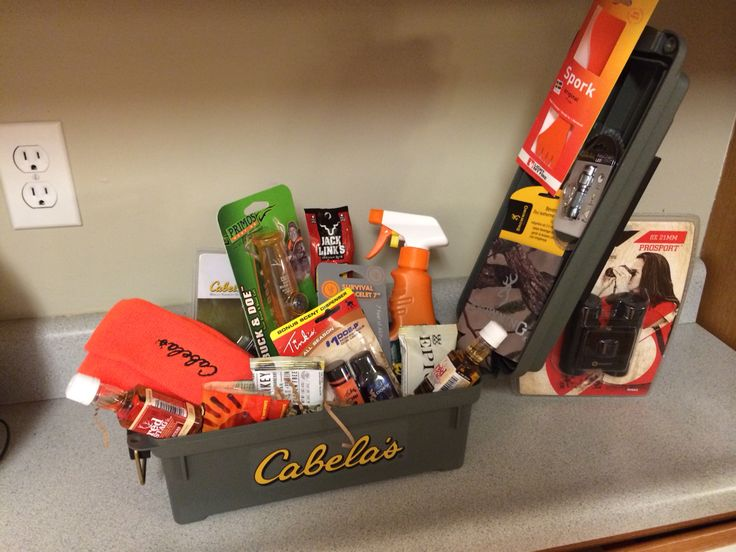 Men's Hunting Gift Basket/ Stag Raffle Basket