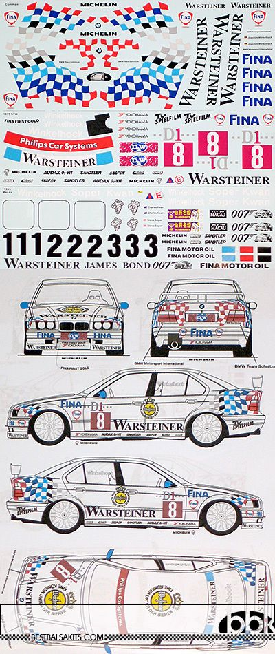 1/24 BMW 318i E36 STW / MACAU WINKELHOCK DECAL for HASEGAWA | Toys & Hobbies, Models & Kits, Automotive | eBay!