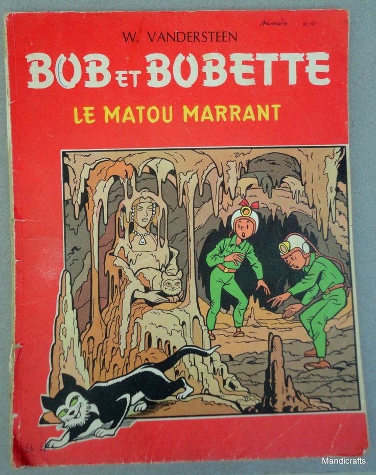 #Comic Book Bob et Bobette Matou Marrant 1950s Funny Tomcat #French W #Vandersteen