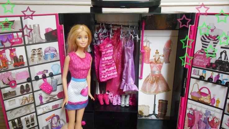 العاب بنات | لعبة باربي خزانة ملابس و اكسسوارات باربي للبنات | Barbie Fa...
