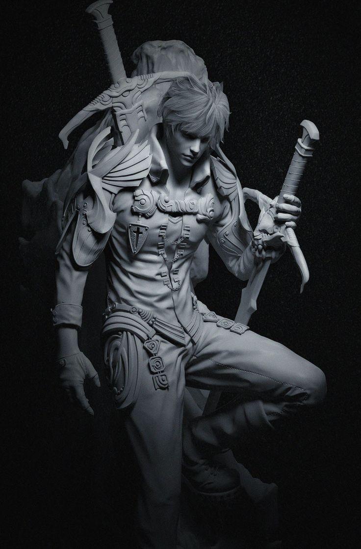knight01 by ChoiMyunghyun | Fantasy | 3D | CGSociety