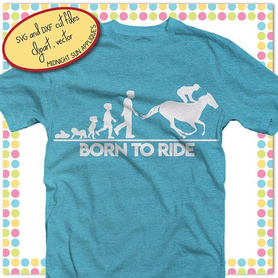 Horse svgborn to ride svghorse cut filehorse saying