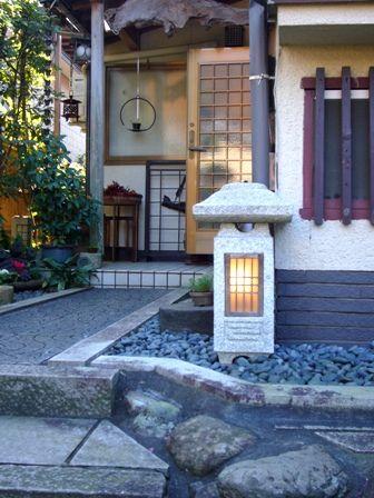 Japanese House Entrance, Kyoto, Japan Copyright: Cinamoroll Clover