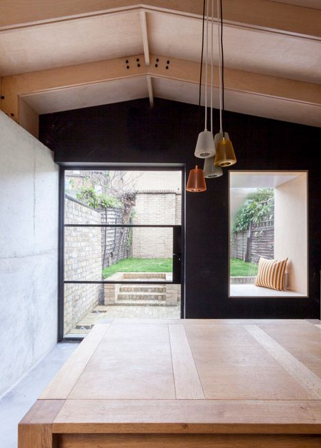 Simon Astridge opts for a variety of raw materials in Balham House extension
