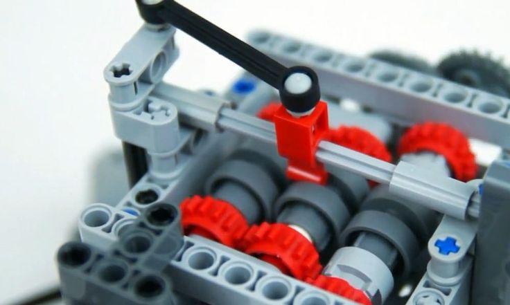 Esta caja de cambios creada con piezas de Lego va más allá de lo que podríamos imaginarnos. Es plenamente funcional, por cierto.