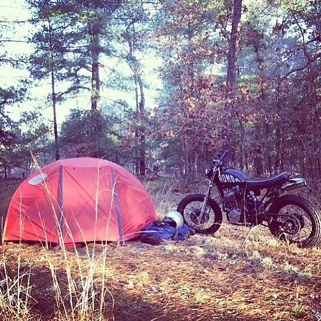 """coffeentrees: """" Fall is my favorite time to be in the woods. Here @dantheabe makes use of our tent. We have one man tents unstick online and in stores including @polerportland and @polernyc #campvibes..."""
