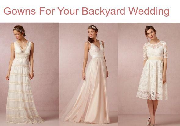 Best 25+ Backyard Wedding Dresses Ideas On Pinterest