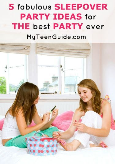 Sleepover parties for girls, tweens and teens can be so much fun! If you need party ideas, check out our list of games, activites and other fun to liven up your slumber party!