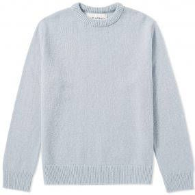 With Scandinavia being renowned for its love of minimalism, Swedish brand Our Legacy certainly follows suit. Producing apparel making up in character and craftmanship for what it lacks in overbearing detail, the impeccably constructed, timeless pieces will be worn season after season. Knitted from Italian Merino wool, this jumper is the extra winter layer you need for your wardrobe. Finished with a ribbed collar, cuffs and hem, the luxury fabric is the only detail you need. Merino Wool Blend…