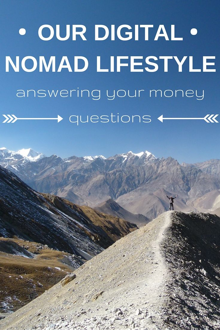 Our Digital Nomad Lifestyle: Answering Your Money Questions (http://www.goatsontheroad.com/our-digital-nomad-lifestyle-answering-your-money-questions/) #travel #countries #nomad #ThinkDifferent... #digitalnomad #travel #explore #lifestyle #adventure #experience #philosophy #workfree #journey #southcoastsocial #marketing #tech #nowiresphilosophy #freedom