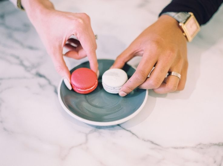 Plan a date night with your loved one.    Macaron Baking Classes: http://www.byollia.com/classes/   Photography Credit: Justine Milton  | Scans By: Photovision Prints | Macaron & Tea Shop: By Ollia | Bloggers: Kohler Charles