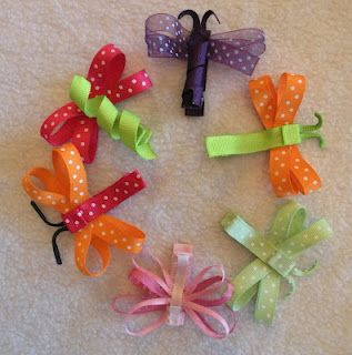 Bownanza! You can buy all sorts of handmade hair bows, clips, and flowers. :)