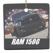 2009 Ram 1500 Quad Cab Ceramic Ornament