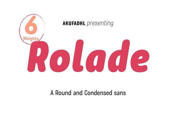 Rolade Pro 50% Intro Sale by akufadhl on @creativemarket
