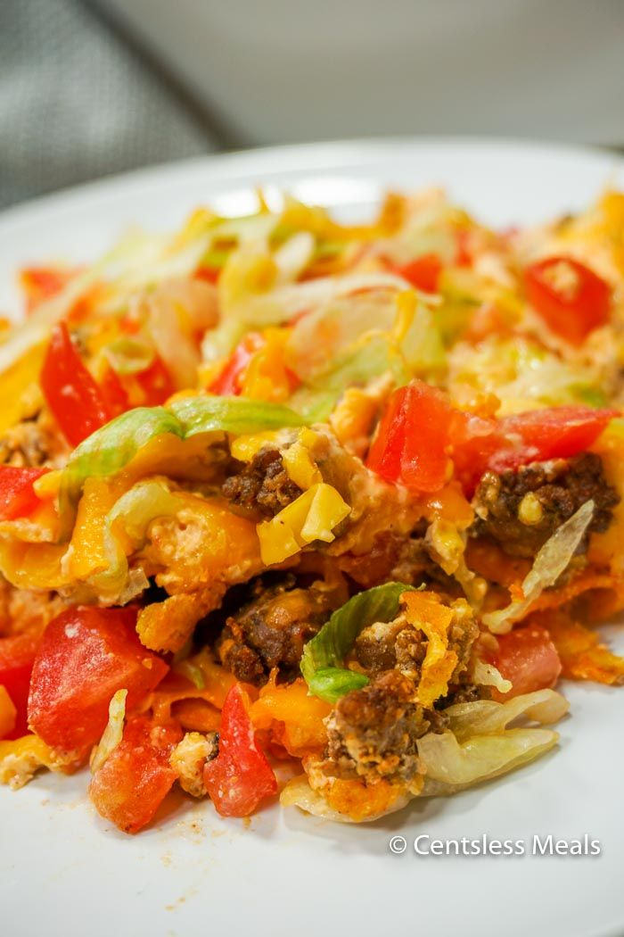 This Easy Taco Casserole has of the spicy flavor combinations you love, mellowed perfectly by the cream cheese and cheddar cheese (and a surprise crust that makes for a totally delicious and unexpected flavor). It's a casserole that will be requested often in your household!