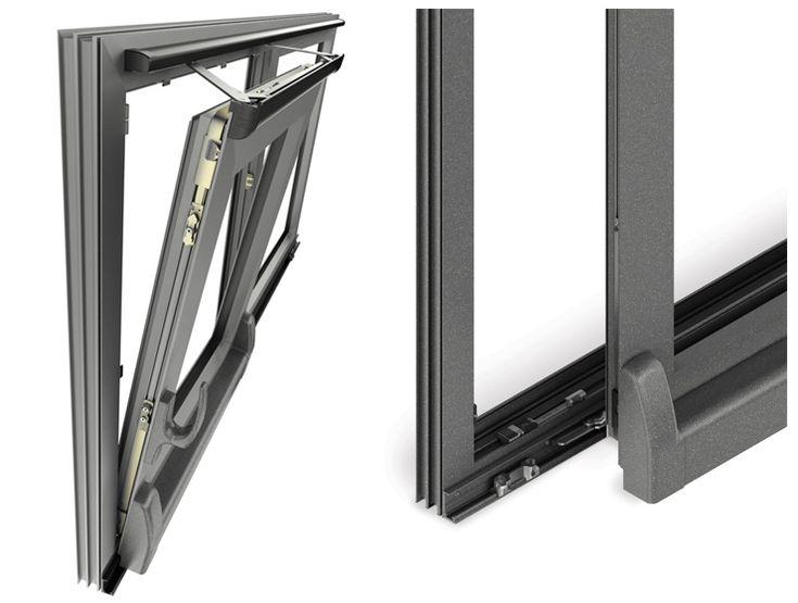 SlideArt TS: the first sliding technology for aluminum door and window frames SAVIO