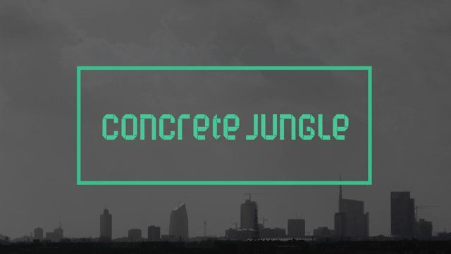 """CONCRETE JUNGLE - Video Report  """"A jungle of cement, real and...concrete.  An oxymoron meant to evoke the universe of urban contradictions. The metropolis, a space in which man loses his identity and finds it a new under other forms and combinations - and its opposite, the jungle, symbol of a disquieting, uncontaminated reality. Just like natural ecosystems, urban environments too are complex biological organisms, regulated by cycles in the air, water, and soil - urban ecosystems, ..."""
