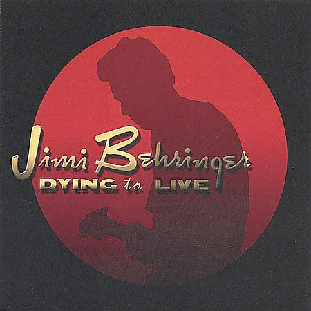 Jimi Behringer Dying To Live CD 2005 Beertrack Blues Rock Funk Minneaplis Prince