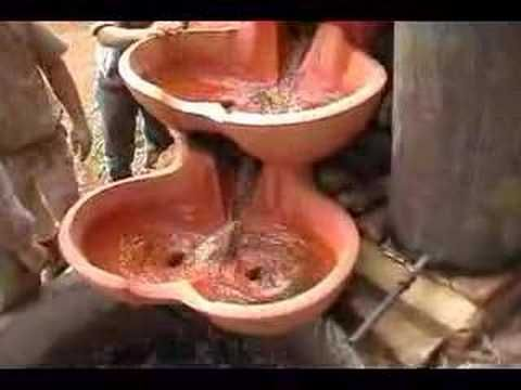Biodynamic flow forms. - YouTube