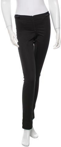 Alice + Olivia Low-Rise Skinny Pants