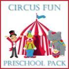 Circus Preschool Pack (free printables) from Homeschool Creations