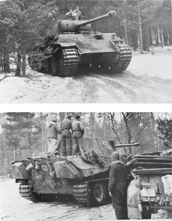 Pz.Kpfw.Panther Ausf.D part of I./SS Pz.Rgt 2 panzer page